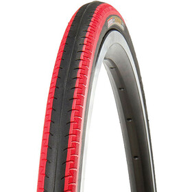 "Kenda Kontender K-196 Tyre 28"", wire bead black/red"
